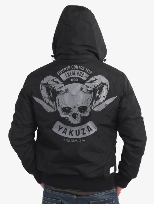 Yakuza Winterjacke Horned schwarz