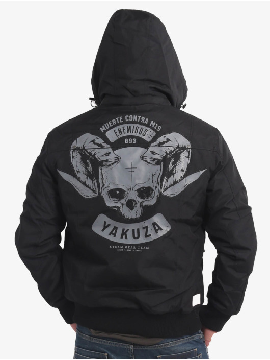 Yakuza Zimní bundy Horned čern