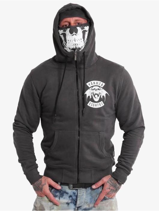Yakuza Zip Hoodie 893mc Ninja čern
