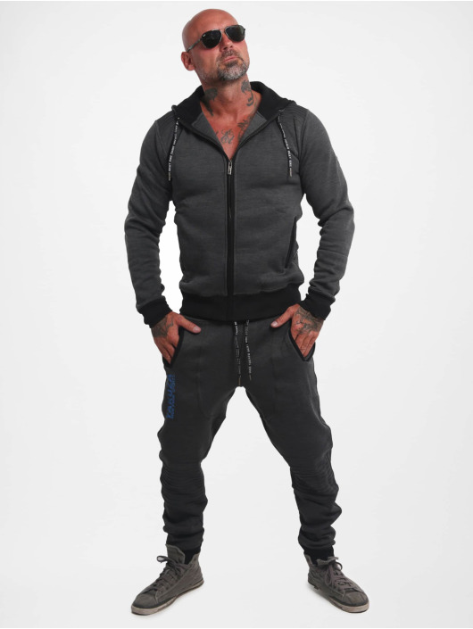 Yakuza Zip Hoodie Limitless S&F Sport black