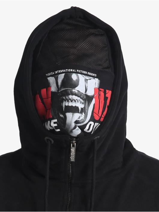 Yakuza Zip Hoodie Game Over Ninja czarny