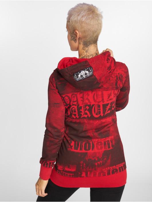 Yakuza Zip Hoodie PMV Long red