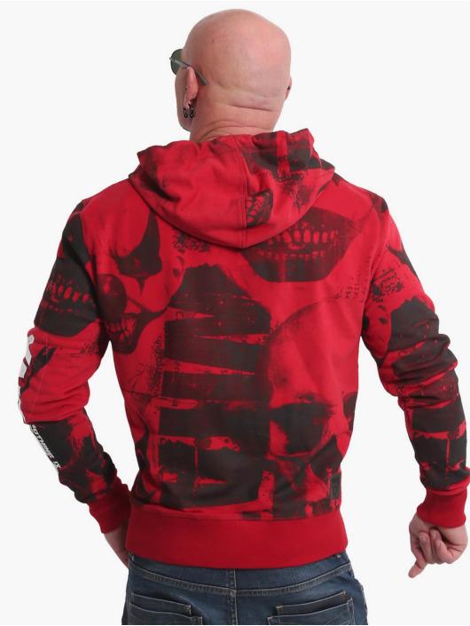 Yakuza Zip Hoodie Psycho Clown red