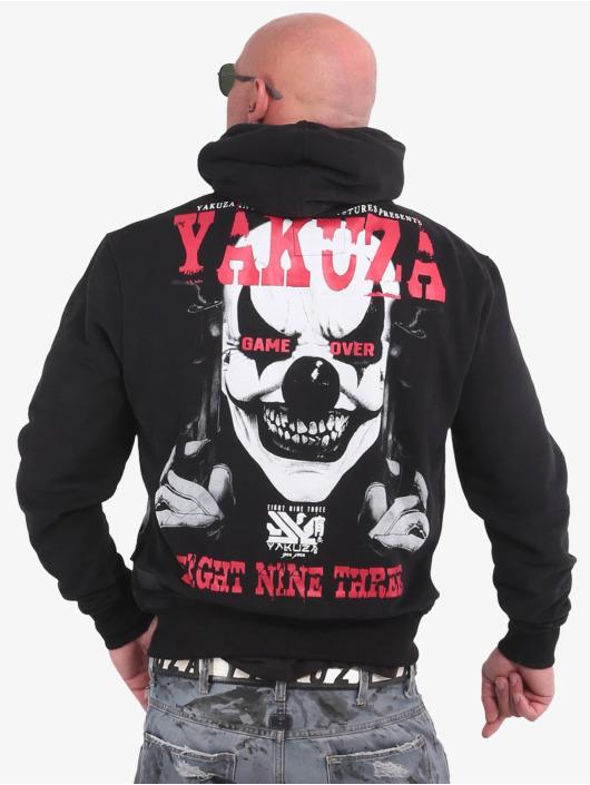 Yakuza Zip Hoodie Duel The Clown Ninja schwarz