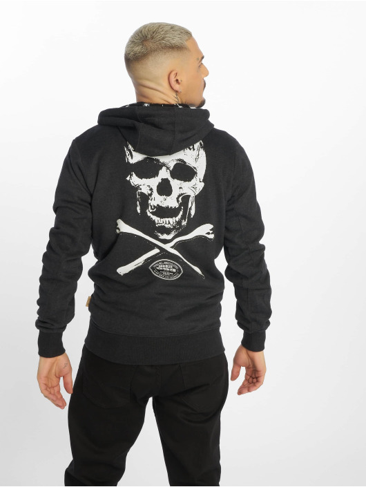 Yakuza Zip Hoodie Bastard Two Face sort