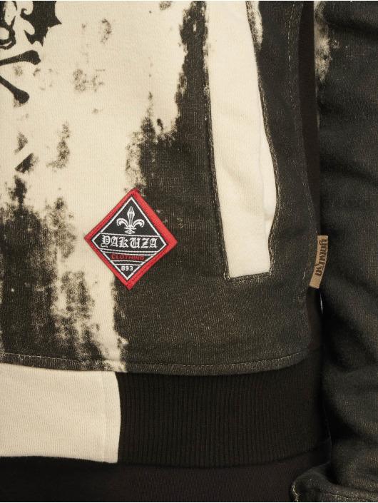 Yakuza Zip Hoodie Gradient V02 Flex svart