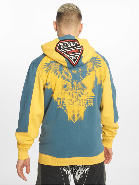Yakuza Zip Hoodie Raven yellow