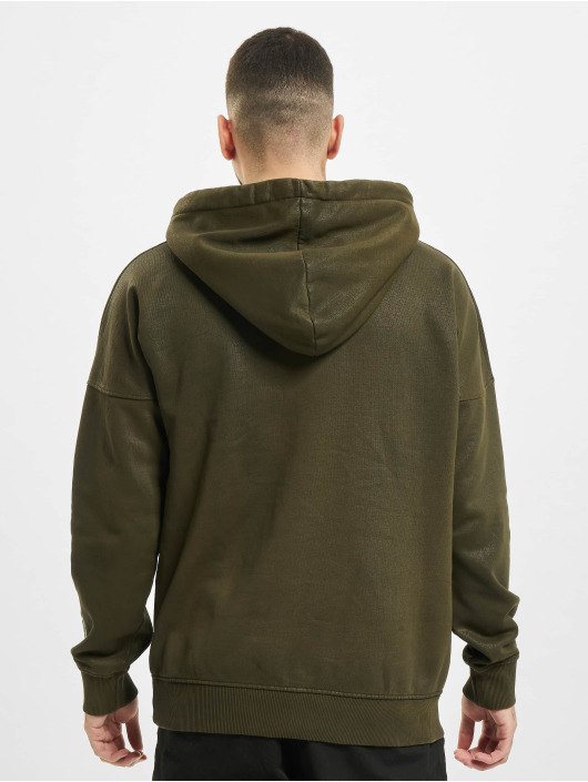 Yezz Hoody Django Leather olive