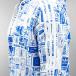 adidas Sweat à capuche zippé Street GRP AOP French Terry blanc 4