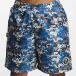 CHABOS IIVII Shorts Camo blau 4