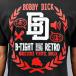 Dangerous DNGRS T-Shirt B-Tight Retro noir 2