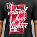 Dangerous DNGRS T-Shirt Natural Born Fighter noir 2