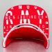 Grimey Wear Snapback Lettering rouge 4