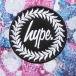 HYPE Rucksack Marble Rush42 bunt 5