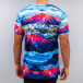 HYPE T-Shirt Mountains Aop multicolore 1