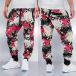 Just Rhyse Спортивные брюки Flower черный 0