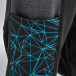 Just Rhyse joggingbroek Lines zwart 2