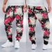 Just Rhyse joggingbroek Flower zwart 0
