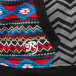 Just Rhyse Sweatvest Aztecs zwart 4