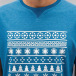 Just Rhyse T-Shirt Snow blau 2