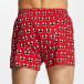 Lousy Livin  Shorts boxeros X Cleptomanicx rojo 1