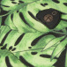 Mi-Pac Backpack Tropical Leaf black 3