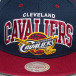 Mitchell & Ness Snapback Caps NBA Team Arch Cleveland Cavaliers blå 4