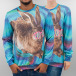 Mr. Gugu & Miss Go Pullover Crazy Rabbit multicolore 0