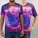 Mr. Gugu & Miss Go t-shirt Fireworks paars 0