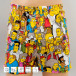 MSTRDS Bokserit Binkabi Thirsty Simpsons All Multi kirjava 0