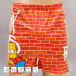 MSTRDS Boxers Binkabi Thirsty Bart Wall orange 0