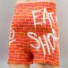 MSTRDS Boxershorts Binkabi Thirsty Bart Wall orange 1
