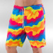 NEFF Short de bain Whatever Hot Tub multicolore 0