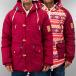 TrueSpin Talvitakit Alaska 2 In 1 punainen 0