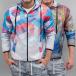 VSCT Clubwear Transitional Jackets Geo Palms 2in1 Reversible mangefarget 0