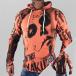 Yakuza Bluzy z kapturem Mexican czerwony 0