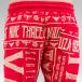 Yakuza Jogging pantolonları Gentleman Club kırmızı 4