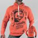 Yakuza Sweat à capuche Evaluation orange 0