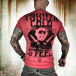 Yakuza T-Shirt Cold Steel rouge 1