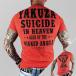 Yakuza T-Shirts Suicide In Heaven kırmızı 0