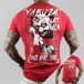 Yakuza T-Shirty Attack czerwony 0
