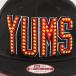 Yums Snapback Cap Era Neon Lights schwarz 1