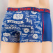 Zaccini Boxershorts Authentic blau 1