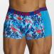 Zaccini Boxershorts Painted Spring blau 0