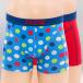 Zaccini boxershorts Confetti 2-Pack blauw 0