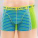 Zaccini boxershorts Caribean 2-Pack groen 0