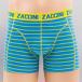 Zaccini boxershorts Caribean 2-Pack groen 2
