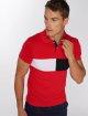 Aarhon Poloshirt Block red 1