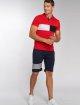Aarhon Poloshirt Block red 5