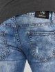 Aarhon Straight Fit Jeans Washed blau 5